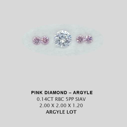 Pink Pp Argyle Pink Diamond Loose Stones 4