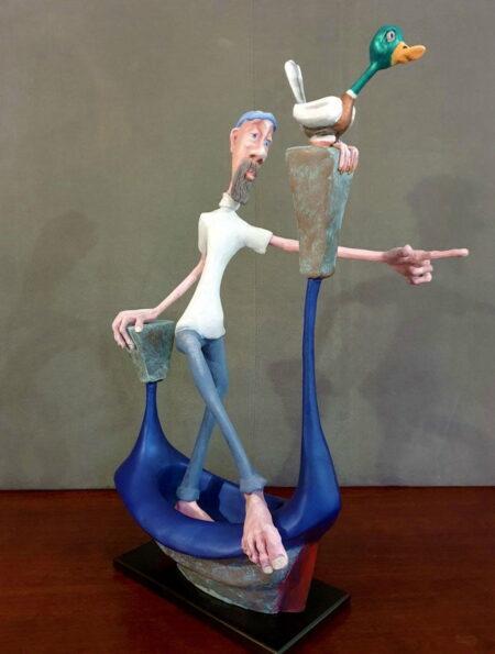 Andrew Taylor Siege Sculpture