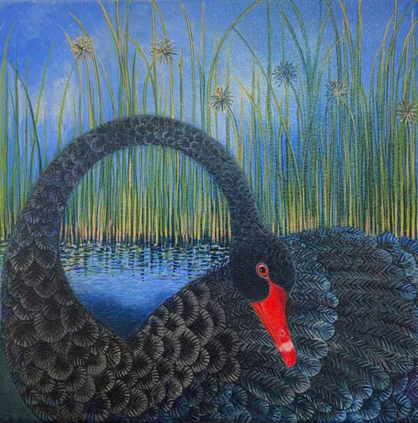 Dariya Gratte Demure Painting