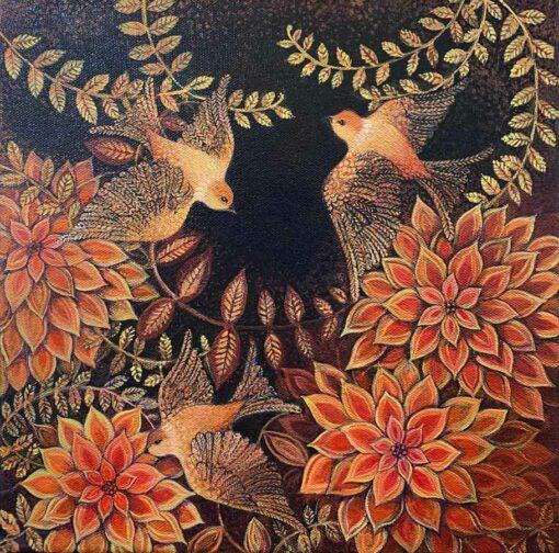 Dariya Gratte Songbird Painting