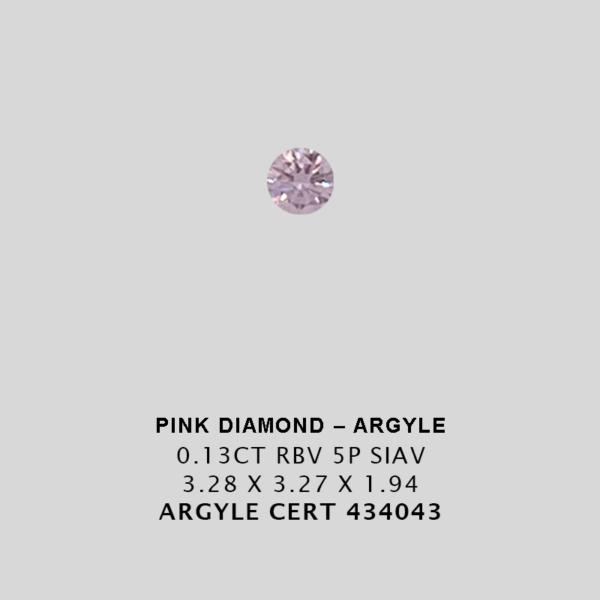 Edia07 Pink1165 Cert 434043 0 130Ct 5P Argyle Pink Diamond Jpg 2
