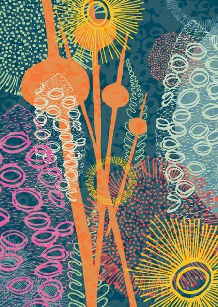 Emily Jackson Wadandi 3 Limited Edition Print On Canvas