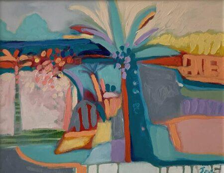 Jos Myers Beaulieu Sur Mer Original Painting