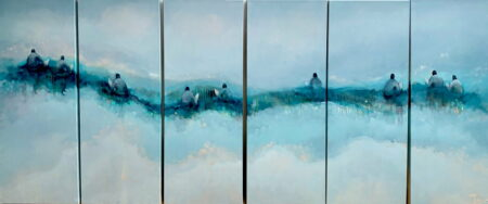 Jos Myers Surfers X6 Panels Together