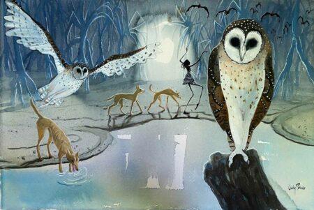 Judy Prosser Night Watch Paintings