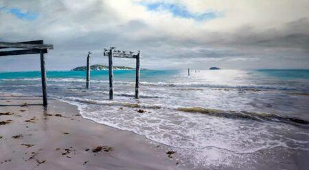 Leigh Hewson Bower Hamelin Bay Painting 1