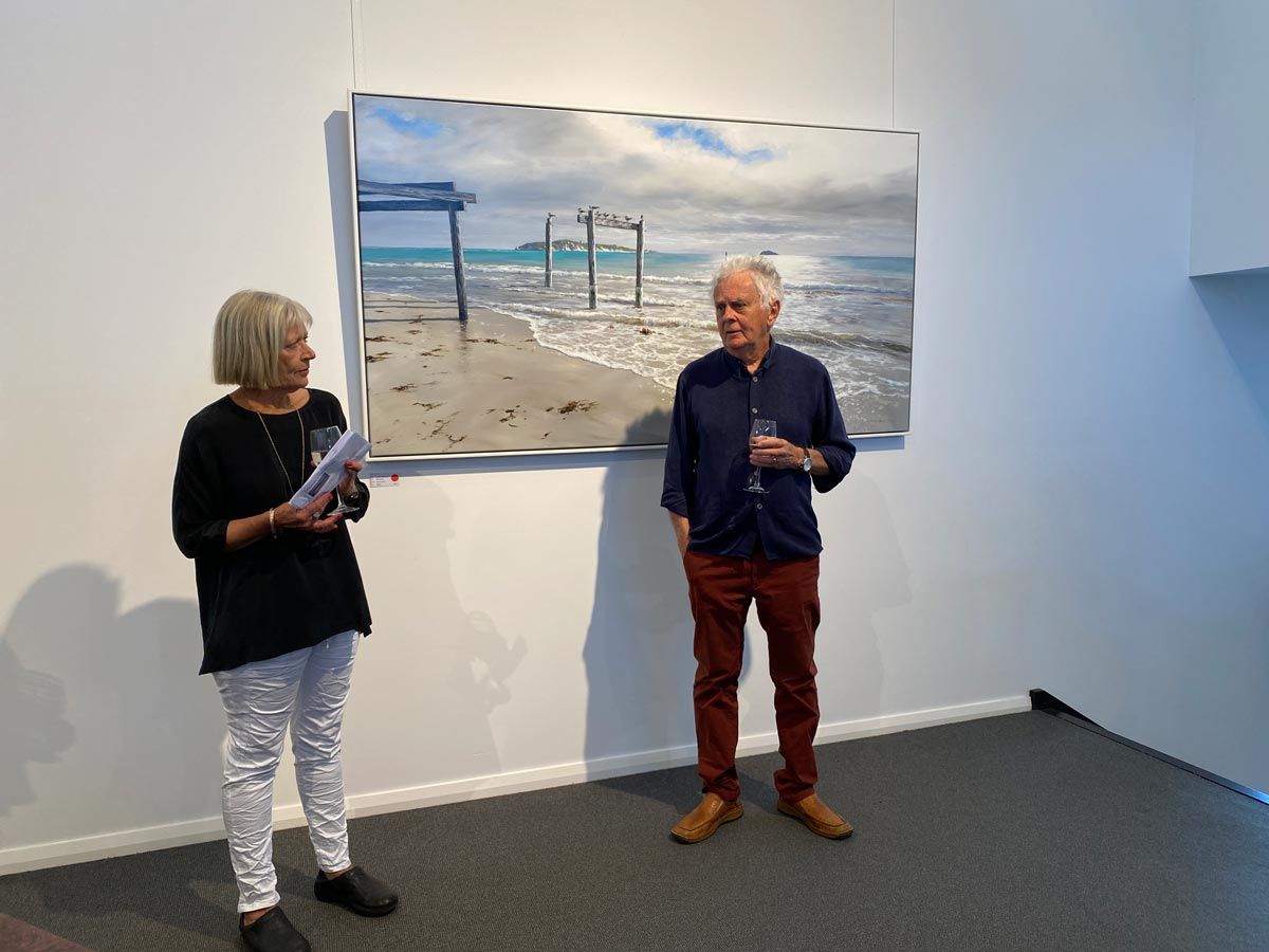 Leigh Hewson Bower South West Shorelines Opening Night Crowd 1
