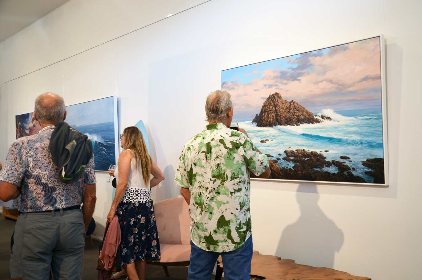 Leigh Hewson Bower South West Shorelines Opening Night Crowd 7
