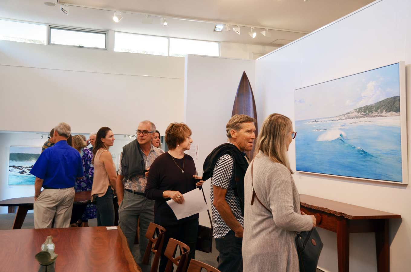 Leigh Hewson Bower South West Shorelines Opening Night Crowd 8