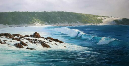 Leigh Hewson Bower Wyadup Rocks And Cape Clairault Painting