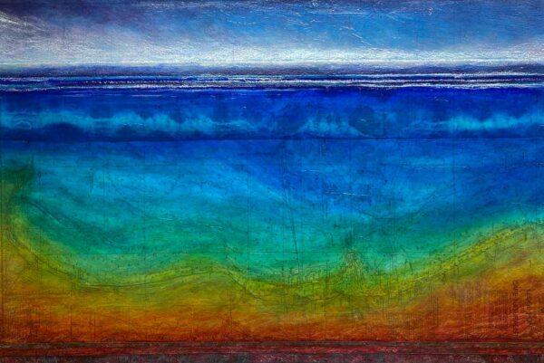 Narelle Pendlebury Coast To Coast Painting