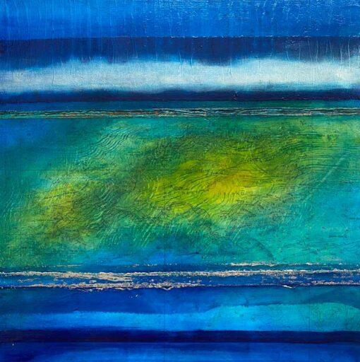 Narelle Pendlebury Island Horizon Painting
