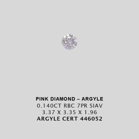 Jah Pr Ct Argyle Pink Diamond