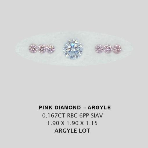 Pink Pp Argyle Pink Diamond Loose Stones 10