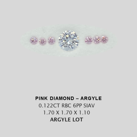 Pink Pp Argyle Pink Diamond Loose Stones 11