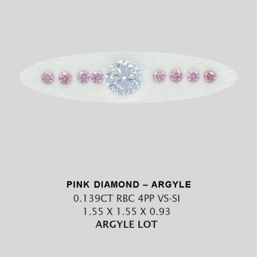 Pink Pp Argyle Pink Diamond Loose Stones 2