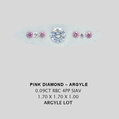 Pink Pp Argyle Pink Diamond Loose Stones 5