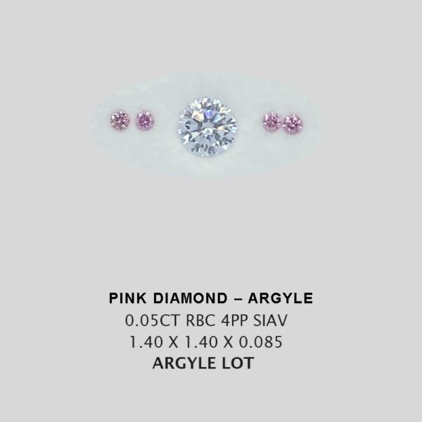 Pink Pp Argyle Pink Diamond Loose Stones 6