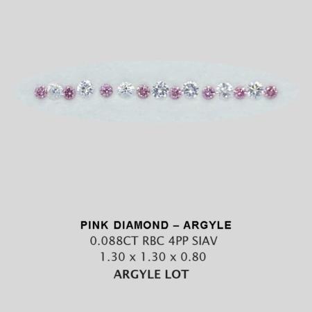 Pink Pp Argyle Pink Diamond Loose Stones 7