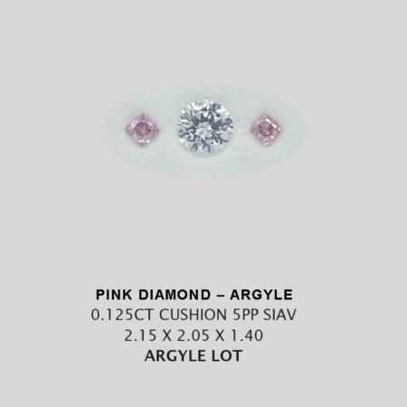 Pink Pp Argyle Pink Diamond Loose Stones 8
