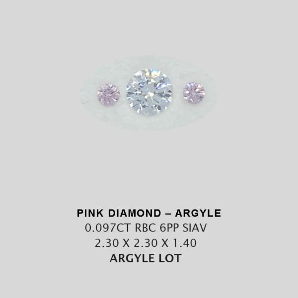 Pink Pp Argyle Pink Diamond Loose Stones 9