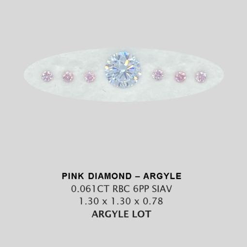 Pink Pp Argyle Pink Diamond Loose Stones Copy