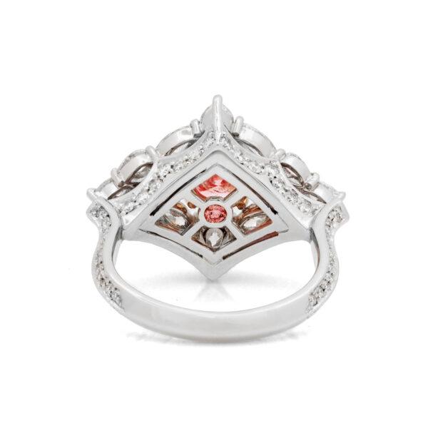 Desert Rose Jewellery Blushing Rose 1Carat Pink Diamond Ring Under