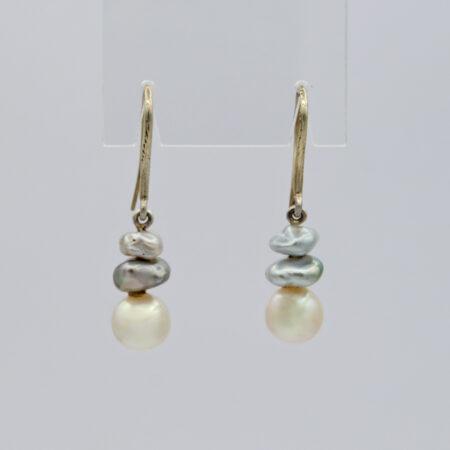 Jane Liddon Abrolhos Akoya Keshi Pearl Earings