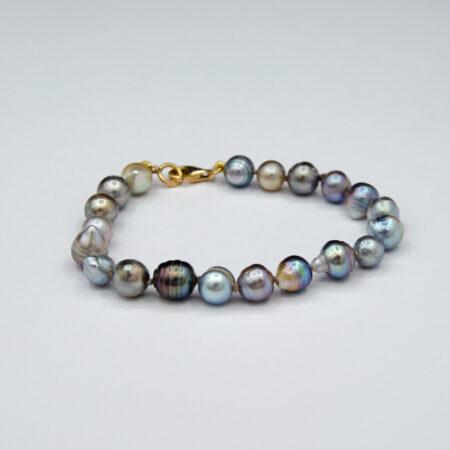 Jane Liddon Abrolhos Black Lip Pearl Bracelet