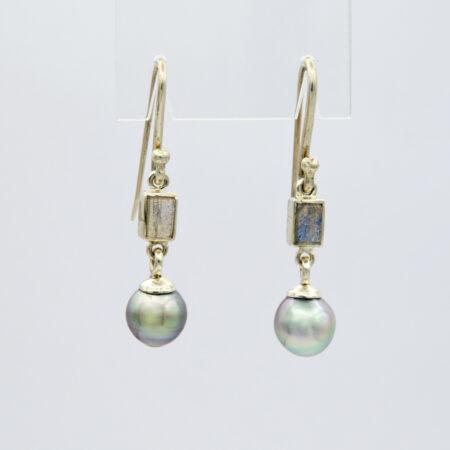 Jane Liddon Labroderite Abrolhos Pearl Earings