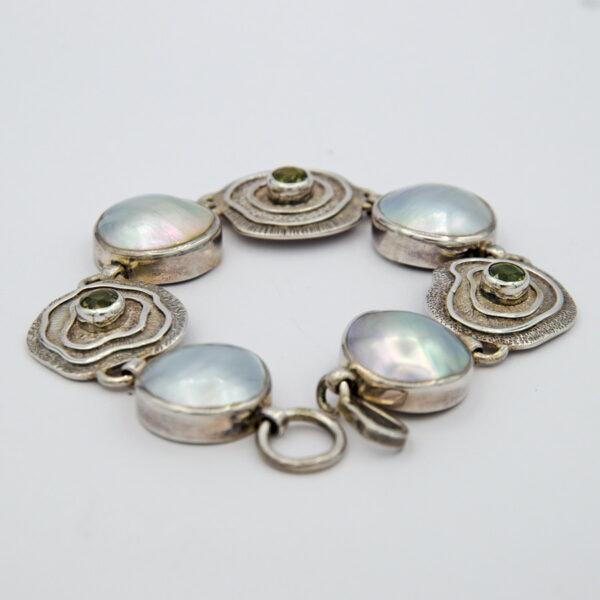 Jane Liddon Mabe Pearl Tourmaline Island Bracelet