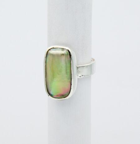 Jane Liddon Oblong Abrolhos Mabe Pearl Ring