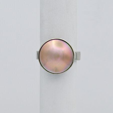 Jane Liddon Pink Tone Abrolhos Pearl Ring