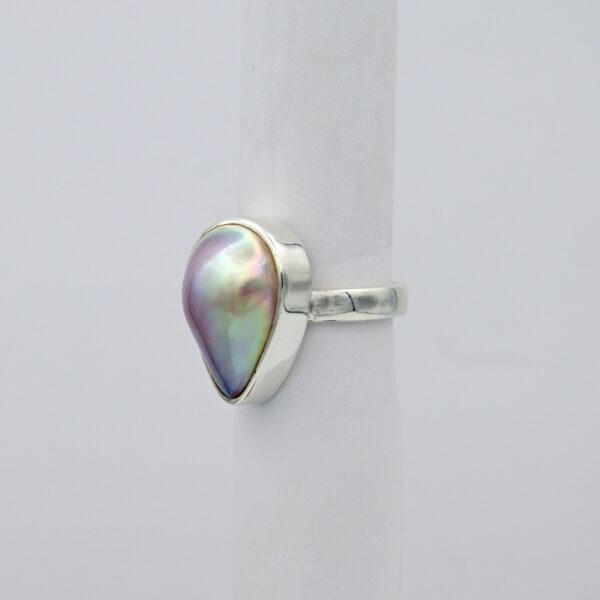 Jane Liddon Teardrop Mabe Pearl Ring