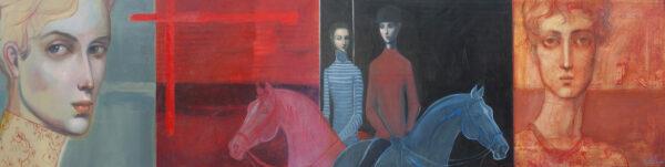 Lauren Wilhelm Ancestors Painting 1