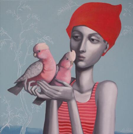 Lauren Wilhelm Earthlings Ii Painting