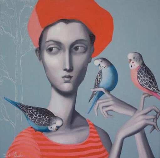 Lauren Wilhelm Earthlings Painting