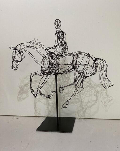 Lauren Wilhelm Freedom Horse Sculpture