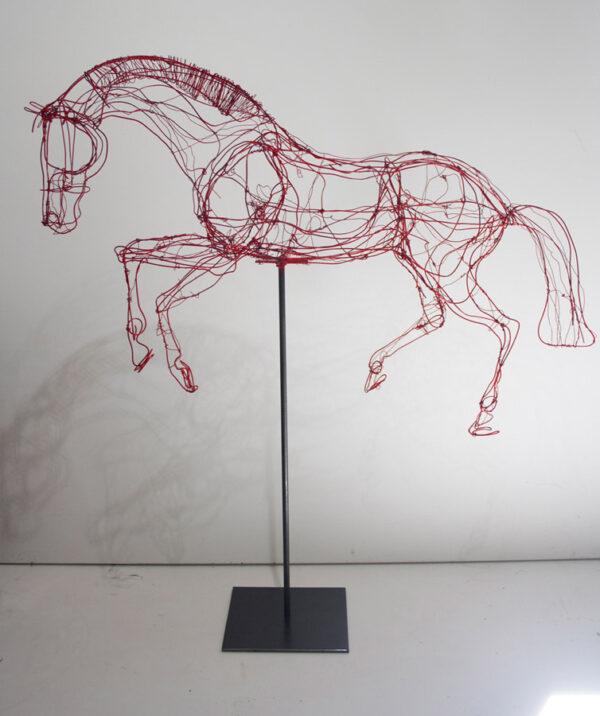 Lauren Wilhelm Lightness Sculpture On Stand