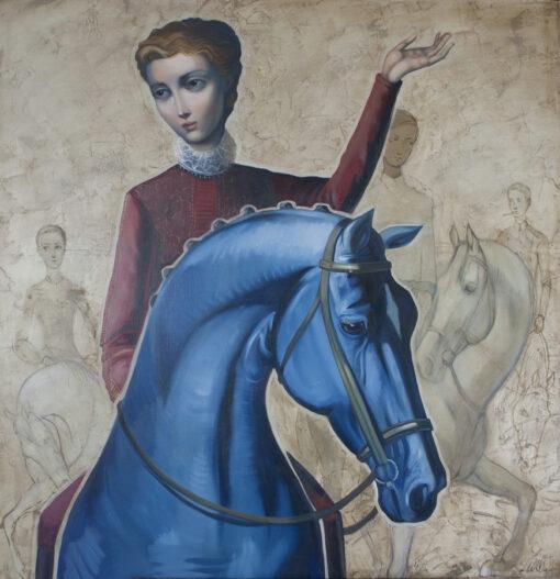 Lauren Wilhelm Presence Of Absence Painting
