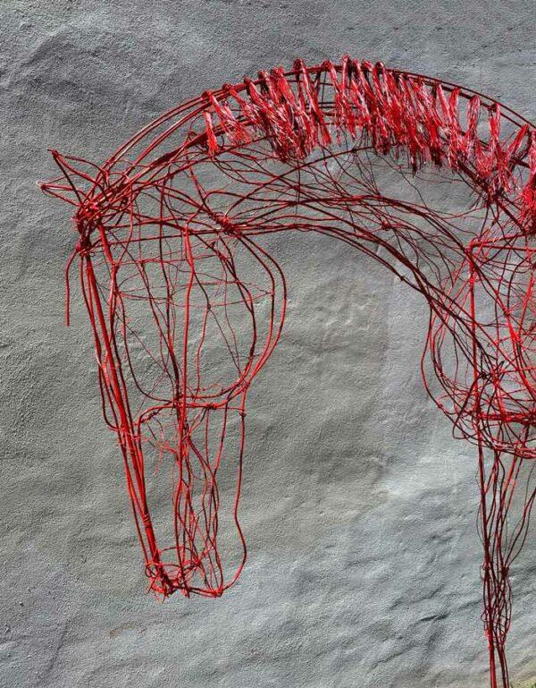 Lauren Wilhelm Softness Ii Hores Sculpture Detail