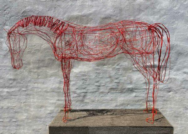 Lauren Wilhelm Softness Ii Horse Sculpture