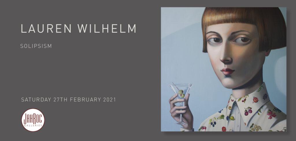 Lauren Wilhelm Solipsism Exhibition At Jahroc Galleries Front