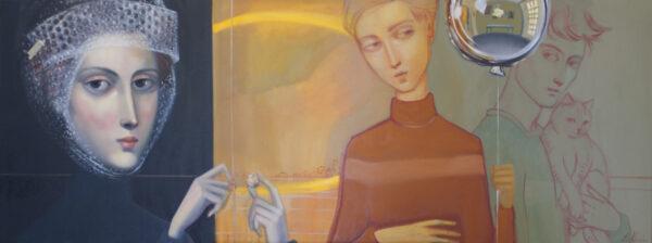 Lauren Wilhelm The Siblings Painting