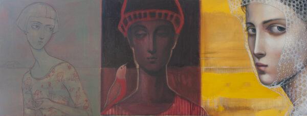 Lauren Wilhelm The Space In Between Painting