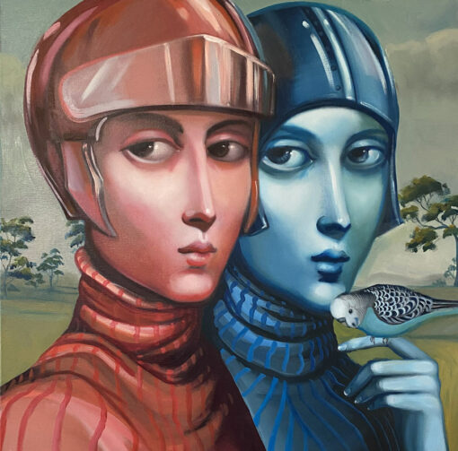 Lauren Wilhelm Together Apart Painting