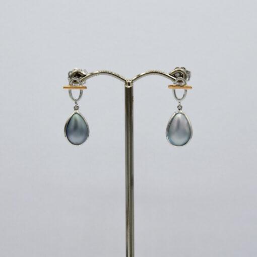 Liddon Pearls Geo Earings Jewellery