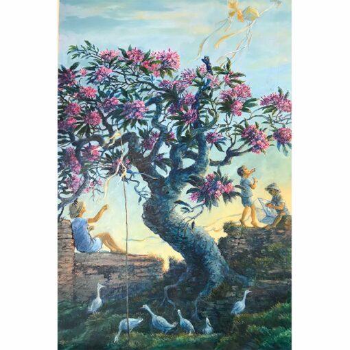 Donald Green Bali Kites Painting 1