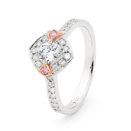 Edjr029003 Desert Rose Jewellery Diamond Halo Ring
