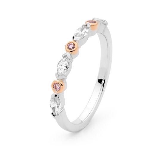 Edjw007 Desert Rose Jewellery Timeless Pink Diamond Wedder